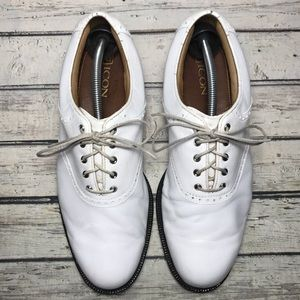 Footjoy Icon Men's Spiked Golf Shoes